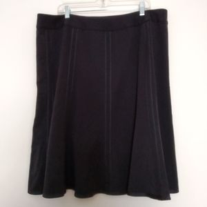 NWT Style & Co. black Skirt Size 20W